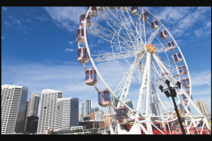 Darling Harbour – Win One of Thirty Family Passes to Star of The Show Ferris Wheel