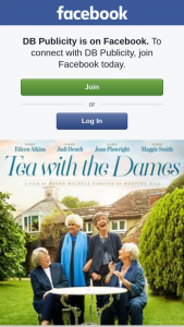 DB Publicity – Win One of Ten Tea With The Dames Double Passes (prize valued at $400)