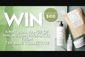 Fashion Weekly – Win this Amazing Pack From The Base Collective'?