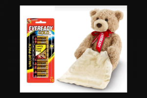 Femail – Win One of 3 X Eveready Bear Packs Valued at $55.00 Each (prize valued at $55)