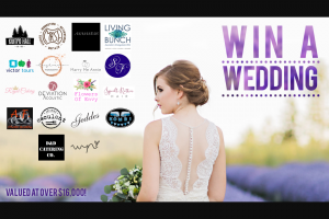 Fleurieu Weddings – Win a Wedding (prize valued at $1,045)