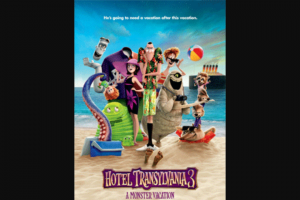 Girl – Win One of 20 X In-Season Double Tickets to Hotel Transylvania 3 a Monster Vacation