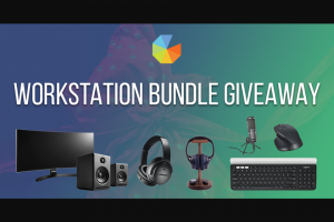 Gleam – Win this Workstation Bundle (prize valued at $1,500)