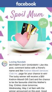 Loving Nundah – Win $50 Kedron Wavell Gift Card