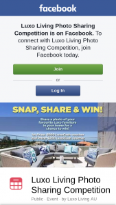 Luxo Living is giving away $700 worth of LuxoCash vouchers in our Facebook photo sharing competition – Competition (prize valued at $700)