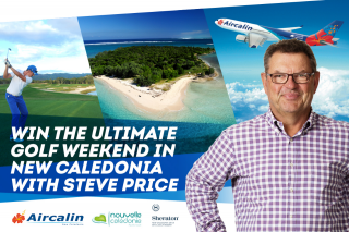 Macquarie Media Operations – Win The Ultimate Golf Weekend In New Caledonia With Steve Price (prize valued at $4,800)