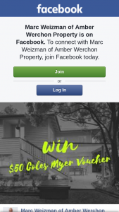 Marc Weizman of Amber Werchon Property – Win a $50 Coles Myer Gift Card By Simply Liking My Page and Tagging a Fellow Home Owner Or a Friend Who Is Interested In Property Investing (prize valued at $50)