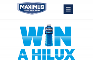 "Maximus – Win a Hilux"" Promotion (prize valued at $1,777.55)"
