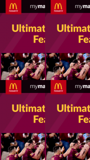 McDonalds Ultimate Footy Feast promotion – Win Ultimate Footy Feast With Maroons Legends and In The Running to Win Hundreds of Weekly Prizes (prize valued at $100)