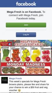 Mega Fresh Browns Plains – Win a $50 Fruit and Veg Voucher