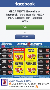 Mega Meats Booval – Win a $50 Voucher
