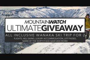 Mountain Watch – Win The Competition