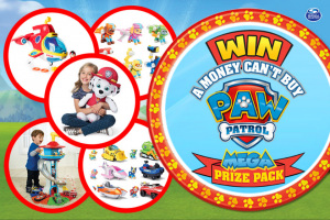 Mum Central – Win a Paw Patrol Prize Pack (prize valued at $530)
