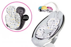 Mums Lounge – Win a @4momsaustralia Mamaroo4 Baby Rocker With Matching Royal Insert – total Prize Valued at Over $550 (prize valued at $550)