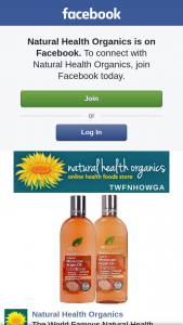 Natural Health Organics – Win a Moroccan Argan Oil Shampoo and Moroccan Argan Oil Conditioner From The Wonderful Folks From Drorganic Sa Then Please Like