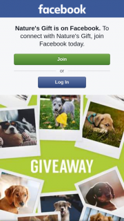 Nature's Gift – Win a Special Hamper for Your Dog
