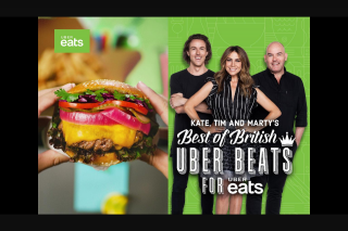 NOVA FM – Win Your Way to London By Playing 'best of British Beats for Uber Eats' (prize valued at $10,000)