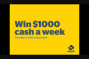 Nova 93.7 – Win $1000 a Week (prize valued at $2,000)