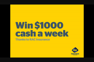 Nova 93.7 – Win $1000 a Week (prize valued at $2,000)