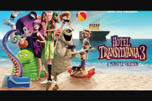 Now to Love – Win a Transylvania 3 a Monster Vacation RRP Au$42.00 (prize valued at $210)