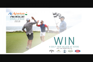 On Course Golf – Win a Trip to The Air Adventure Rogue Challenge (valued at $2595) Dec 6 – 9 2018 (prize valued at $2,595)