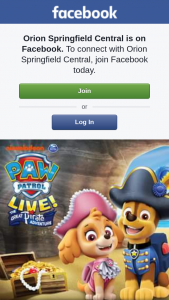 Orion Springfield Central – Win One of Five Family Passes to See Paw Patrol Live