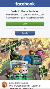 Ozzie Collectables – Win a Green Lantern