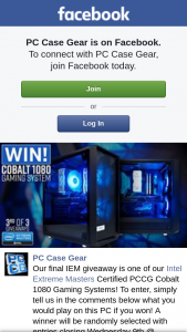 PC Case Gear – Is One of Our Intel Extreme Masters Certified Pccg Cobalt 1080 Gaming Systems