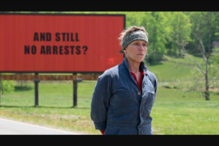 PedestrianTV – Three Billboards Outside Ebbing (prize valued at $7,057)