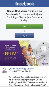 Qscan Radiology – Win a $100 Eftpos Card (prize valued at $100)