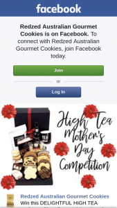 Redzed Australian Gourmet Cookies – Win this Delightful High Tea Package of Love for Your Mum (prize valued at $125)