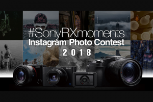Sony RX Series Instagram Photo Contest 2018 – Will Be Notified Via Instagram and Have Their Winning Shot Shared on Sony Australia and New Zealand's Social Media Accounts (prize valued at $34,000)