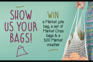 South Melbourne Market -Show Us Your Bags to – One Pack a Week for 8 Weeks (prize valued at $41)