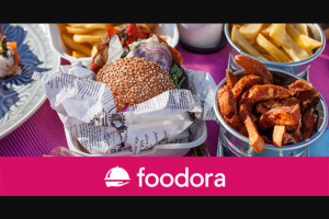 Student Edge – Win 1 of 5 $50 Foodora Vouchers to Spend at a Restaurant of Your Choosing (prize valued at $250)