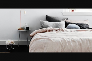 Style magazines – Win this Premium Bed Linen Duvet Set Valued at $355 and Rediscover That Blissfully Comfy Feeling (prize valued at $355)