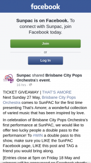 SunPac – Win a Double Pass to this Show
