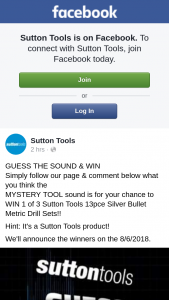Sutton Tools – Win 1 of 3 Sutton Tools 13pce Silver Bullet Metric Drill Sets