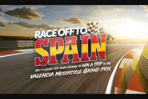 Swann Insurance – Win an All Expenses Trip for Them and a Mate to The 2018 Valencia Motorcycle Grand Prix (prize valued at $17,000)