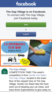 The Gap Village – So Three Lucky Can Try Their Service for Themselves (prize valued at $50)