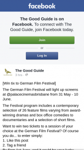 The Good Guide – Win Two Tickets to a Session of Your Choice at The German Film Festival