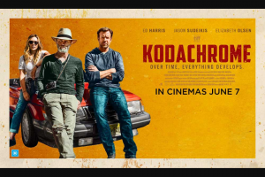 The Music – Win a Pass to an Advance Screening of Kodachrome