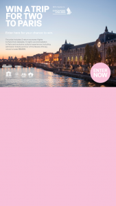 Visit Colours of Impression – Win a Trip for Two to Paris (prize valued at $8,000)