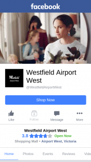 Westfield Airport West – Win One of The Family Passes
