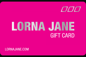 Win a $500 Lorna Jane Voucher (prize valued at $500)