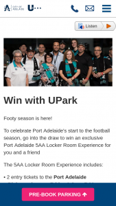 Win an Exclusive Port Adelaide 5aa Locker Room Experience for You and a Friend