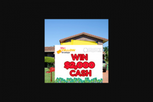 Win at Yellow – Get Pumped and Win $5000 Worth of Fuel (prize valued at $5,000)