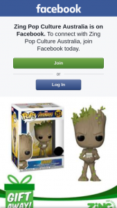 Zing Pop Culture Australia – Win a Groot Pop Vinyl