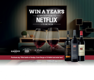 Accolade Wines – LMG – Win 1 of 5 prizes of Netflix for a Year valued at $220 each
