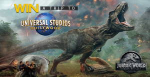 """Channel Seven – Sunrise """"Jurassic World"""" – Win a trip to Universal Studios Hollywood in Los Angeles"""