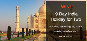 MyDiscoveries – SNA India – Win a 9-day Golden Triangle tour with SNA Tours in India valued at $5,000 AUD